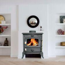 NEW Cast Iron Log Burner MultiFuel Wood Burning 6 kw Stove WoodBurner JA013