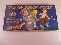 Vtg Whitman Children's Board Game Pix Pix Pick Up Sticks & A Hunting We Will Go