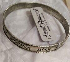 NWT Mother's Day Mom Many Languages sweet romance bracelet Bangle
