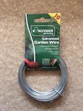 Kingfisher Galvanised Garden Wire - 10 meters x 2mm