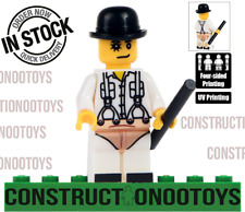 Alex lego Custom Pad Uv Printed Minifigure Clockwork-Orange