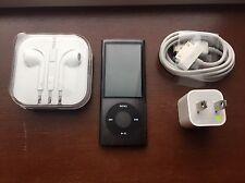 Apple iPod nano 5th Generation Black (16GB) Excellent Condition