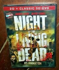 Night of the Living Dead: Re-Animation (DVD, 2012, 3-Disc Set, 3D)