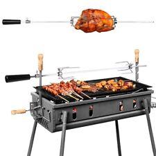 MVPOWER 93cm tournebroche électrique automatique en Acier pour BBQ