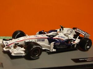 2008 Formula 1 Robert Kubica BMW SAUBER F1.08 1:43 Scale