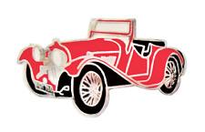 SS Jaguar 100 Sports Red Pin Badge