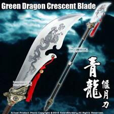 Guan Yu Green Dragon Crescent Blade Guan Dao Wu Shu