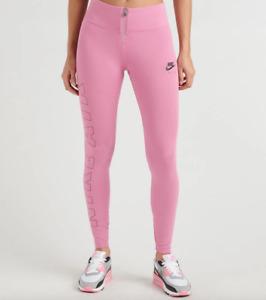 Nike Sportswear Air Leggings Pink Magic Flamingo Stretchy CJ9968 693 - SIZE XS