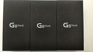 Lot of 3 LG G8 ThinQ G820UM Sprint 128GB Check IMEI IP-8419