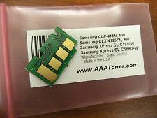 Black Toner Chip  for Samsung CLT-K504S, CLP-415, CLP-415N, CLP-415NW Refill