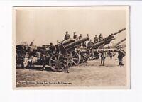 Foto 1. Weltkrieg Heavy German Guns Captured By English