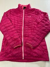 Girls THE NORTH FACE Pink Thermoball Insulated Puffer Jacket Sz XL