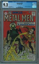 SHOWCASE #38 CGC 9.2 2ND METAL MEN HIGH GRADE OW/W PAGES 1962 KEY BOOK 🔑