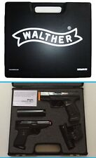 007 James Bond WICKE WALTHER Attache Case PPK P99 TOY CAP Gun Set Silencer Laser