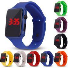 Children Silicone LED Display Sport Watch Digital Bracelet Wrist Watches Unisex