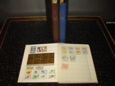 Collection de Motifs Jeux Olympiques 1948 - 1992 + Timbré dans 3 Albums