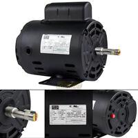 1 HP Air Compressor Electric Motor 56 Frame 3485 RPM Single Phase WEG New