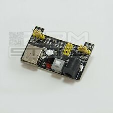 Alimentatore per breadboard 5V - 3,3V arduino piastra sperimentale USB ART. AT07