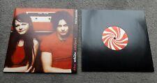 """WHITE STRIPES Live in Australia 2002  red 10"""" vinyl LP EX+/VG+"""