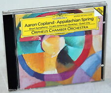 CD Aaron Copland-Appalachian Spring-Orpheus Chamber Orchestra