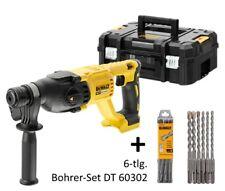 Dewalt SDS-plus Akku-Kombihammer Bohrhammer DCH133NT + SDS-plus Bohrerset 60302