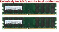 For Samsung 8GB 2x 4GB DDR2 PC2-6400U 800MHz 240PIN Desktop memory AMD CPU RAM