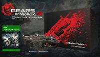 Gears of War 4 Loot Crate Edition (New & Sealed) Very Rare!
