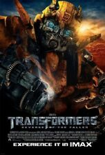 TRANSFORMERS 2 ROTF MOVIE POSTER IMAX 2 Sided ORIGINAL 27x40 BUMBLE BEE