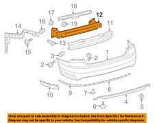 Rear Bumper-Impact Bar Reinforcement Beam Support Rebar 561807305