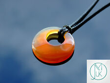 Red Agate Gemstone Necklace Natural Gemstone Pendants Silver Healing Stone