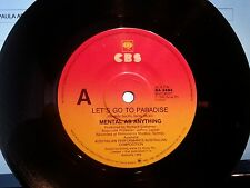 MENTAL AS ANYTHING 45RPM LET'S GO TO PARADISE FREE POST IN AUSTRALIA 1986