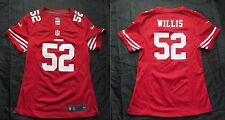 Patrick Willis 52 San Francisco 49ers NFL PERFECT shirt jersey NIKE WOMEN Size S