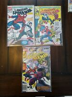 Amazing Spider-Man 358, 367, Annual # 24  - Avengers MARVEL