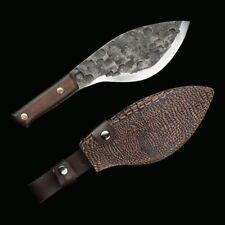 Kitchen chef  meat bone chopping knife Blade Butcher knife Full tang Handmade
