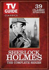 Sherlock Holmes - The Complete Series 39 Episodes (DVD, 2015, 3-Disc Set) - NEW!
