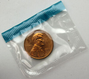 1970-S SD Lincoln Cent - BU/Unc/Uncirculated Small Date Sealed in Mint Set Cello