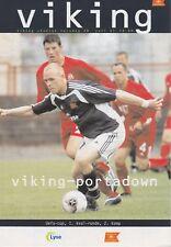 VIKING STAVANGER v PORTADOWN ~ UEFA CUP 1ST QUALIFYING ROUND ~ 28 JULY 2005