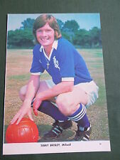 Terry brisley-millwall player-1 page photo clipping / coupe -