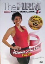 The FIRM Body Sculpting System 2: MAX Cardio Burn Plus Abs DVD Allie Del Rio NEW