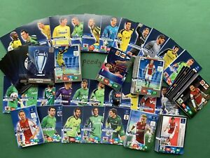 Panini Adrenalyn Champions League 2013/14 All 360 Cards Complete Messi Ronaldo