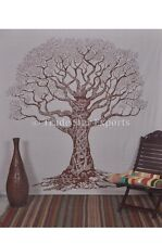 Tree Of Life Tapestry Tapestries Wall Hanging Indian Cotton Bohemian Bedspread