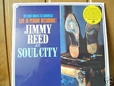 """Jimmy Reed LP """"At Soul City-Live In-Person Recording! """" NEW-OVP 1964 / 2004"""