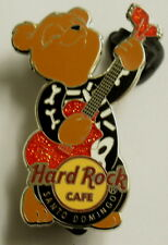SANTO DOMINGO,Hard Rock Cafe Pin,BEAR LE
