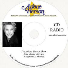Anne Murray-Radio Interview-4 Segments-25 Minutes-CD