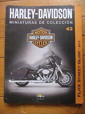 FASCICULE 43  MOTO COLECCION HARLEY DAVIDSON   FLXH STREET GLIDE 2013