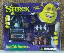 "Shrek 2-3"" Mini Figures 'Fairy Tale Fugitives' By McFarlane"