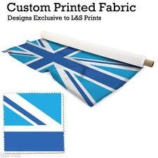 Telas y tejidos color principal azul de tela por metros de poliéster para costura y mercería