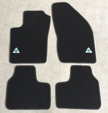 Autoteppich Fußmatten für Alfa Romeo 75 Quadrifoglio Stick Nubukband Velours
