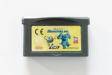 Game / Juego Disney Pixar Monsters, Inc. Nintendo Game Boy Advance (Euu) (GBA)
