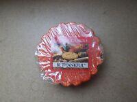 Yankee Candle Usa Rare Be Thankful Wax Tart